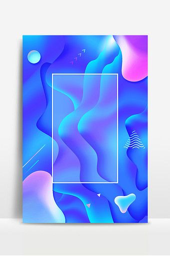 Blue Purple Gradient Cool Fluid Irregular Background Map Backgrounds Psd Free Download Pikbest Blue And Purple Graphic Design Posters Background