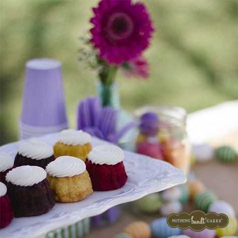 Enjoy the sunshine with your sweet mom and a box of sweet treats this Mother's Day.   Nothing Bundt Cakes