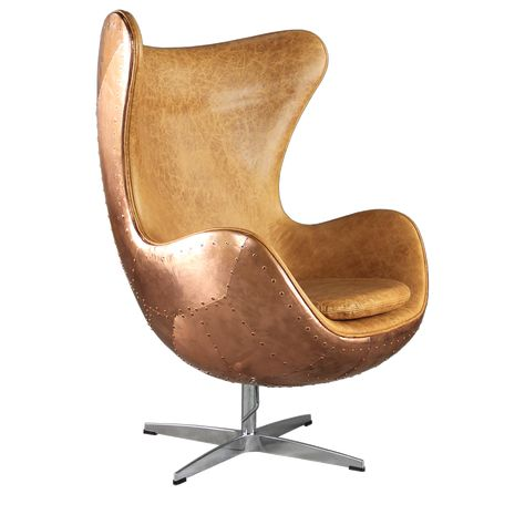 Egg Chair Reproductie.Spitfire Aj Egg Chair By Arne Jacobsen Copper Shell Egg Chair