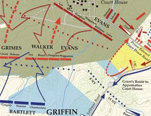The Battle Of Appomattox Court House Summary Facts Civilwar - Appomattox court house us map