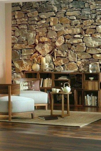 Stone Wall Interior Design Ideas Elegant Inside Stone Wall