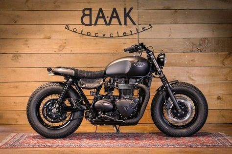 Triumph Bonneville T120 By Baak Motorcycles