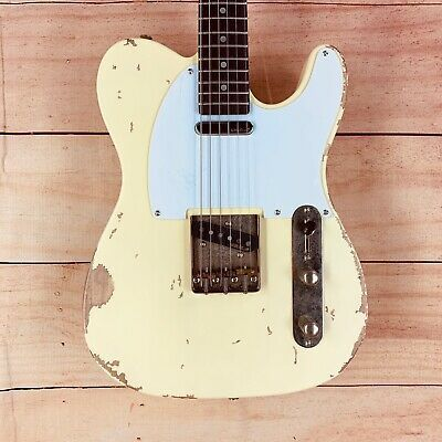 Vintage V62 Icon Distressed Electric Guitar Aged In 2020 Electric Guitar Guitar Electricity
