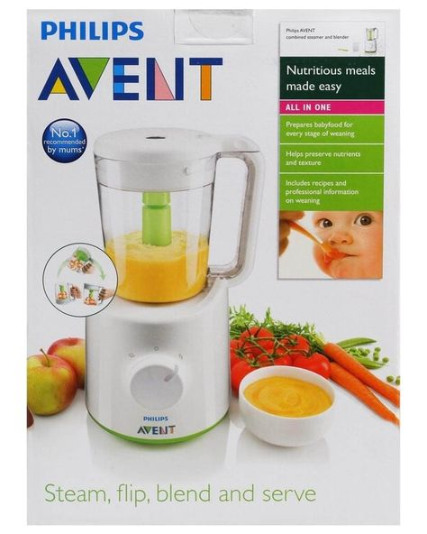 Automatic Baby Food Maker And Cookbook For Indian Moms