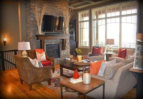 Fluff Interior Design Omaha Ne United States Living Room