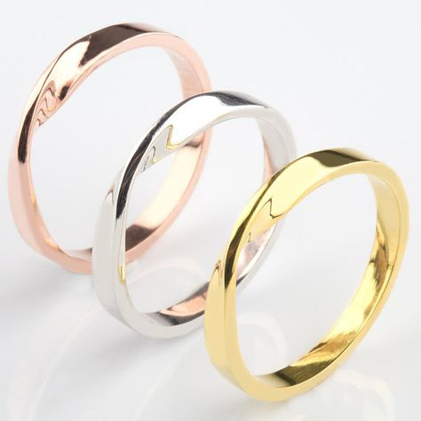 Beauty-OU Single Fine Ring Titanium Steel Material Inlaid Transparent Black Fashion Trendy Ring for Women Jewelry Gift,5,Clear,Rose Gold