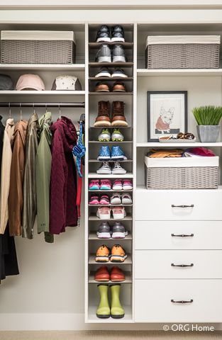 Entryway Storage Organization Cornerstone Closets Maryland