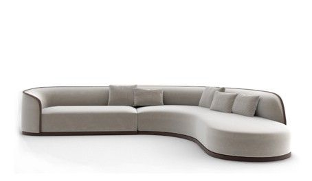 Grace By Rugiano Luxury Sofa Sofa Curved Sofa
