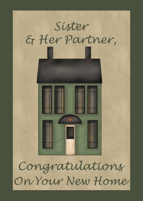 Congrats On New Home