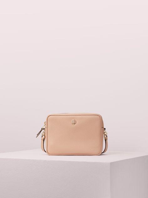 Women S Flapper Pink Polly Medium Camera Bag Kate Spade New York Shoulder Bag Women Bags Shoulder Bag