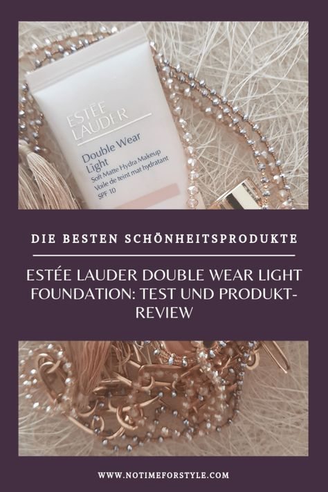 Estee Lauder Double Wear Light Erfahrungsbericht Beauty Blogs Estee Lauder Double Wear Beauty Blender