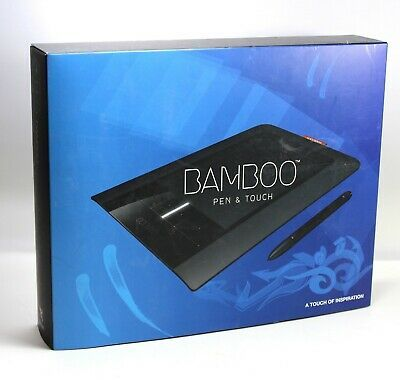 Wacom Bamboo Cth 460 Pen And Touch Tablet Cds Free Shipping