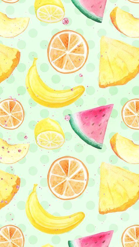 20 Best Ideas Fruit Illustration Summer Wallpapers Fruit Wallpaper Wallpaper Iphone Summer Cute Food Wallpaper