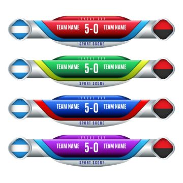 Scoreboard Elements Soccer Scoreboard Png And Vector With