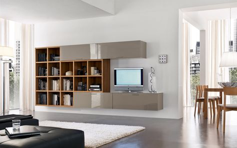 Santa- Lucia wall unit. The precision of the lines and the ...