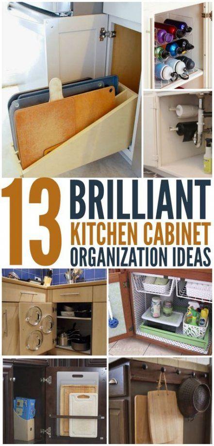 Trendy Kitchen Cabinets Organization Ideas Hacks Ideas With Images Kitchen Cabinet Organization Cabinets Organization New Kitchen Cabinets