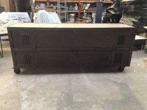 nouveau concept 11390 ff531 Transformer un vestiaire en meuble TV - L'atelier déco ...