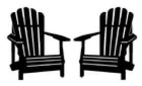 Afbeeldingsresultaat voor adirondack chair | Silhouette clip ...
