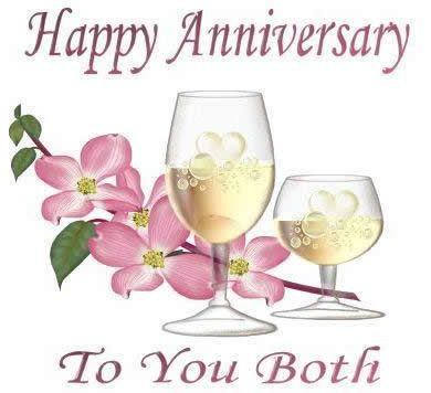 Happy Anniversay to you both  tjn