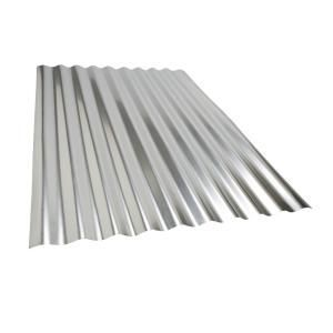 Metal Sales 3 Ft 6 In Classic Rib Steel Roof Panel In Galvalume 2313041 The Home Depot Steel Roof Panels Corrugated Metal Roof Roof Panels