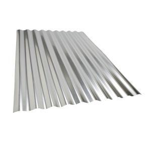 Metal Sales 3 Ft 6 In Classic Rib Steel Roof Panel In Galvalume