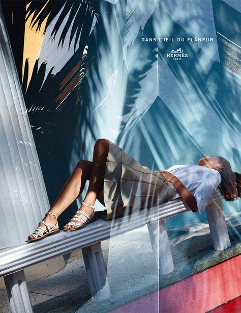 Campagne Hermès 2015 : Dans l'œil du flâneur, de Harry Gruyaert - L'Œil de la photographie