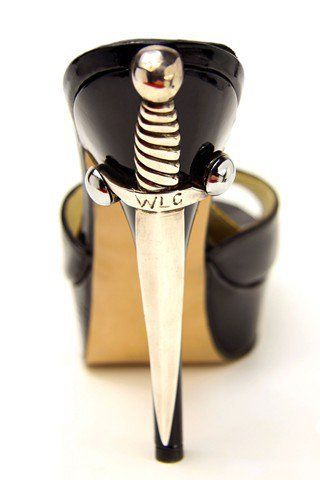 Limited Edition Gemma Dagger Heel by Terry De Havilland - These are seriously killer heels!!