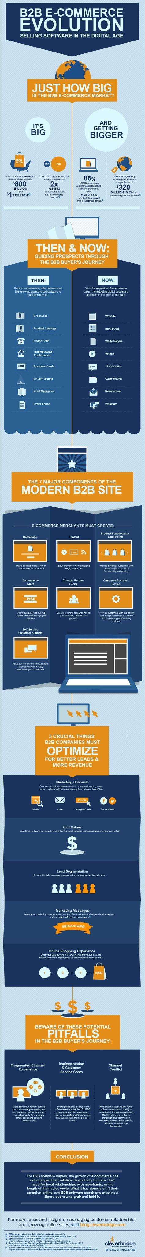 B2B E-Commerce Evolution: Selling Software in the Digital Age - #entrepreneur #startups