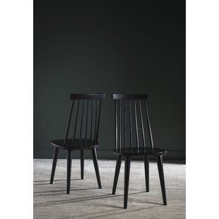 Lemaire Tufted Upholstered Side Chair Joss Main In 2020 Solid Wood Dining Chairs Dining Chairs Side Chairs