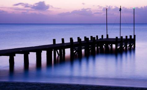Hd Wallpaper With Beautiful Views Of Bridge In The Sea Nature