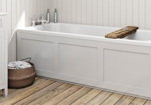 How To Fit A Wooden Bath Panel Bathroom Cladding Shower Bath Bath Panel