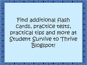 Student Survive 2 Thrive Free Medical Terminology Flash Cards