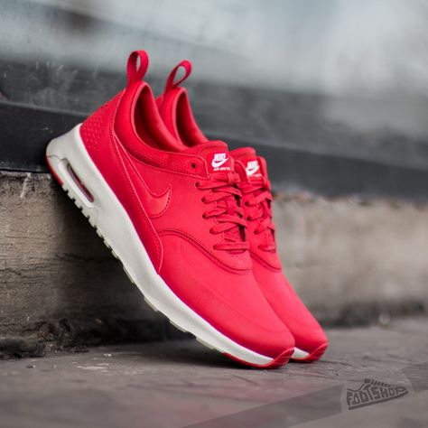 Nike Air Max Thea Mens Premium Burgundy