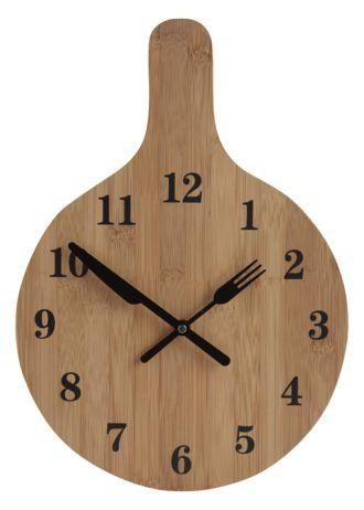 Bamboo Clock Wood Clocks Wooden Clock Diy Clock