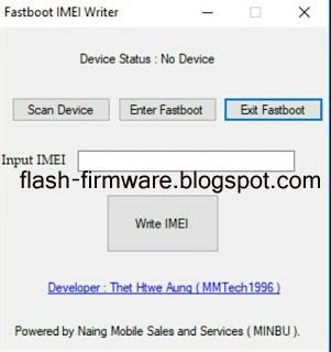 DownloadFastboot IMEI Writer Tool Feature: Fastboot IMEI