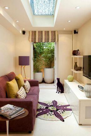 Interior Design Ideas For Rectangular Living Room Tiny Living