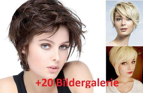 Neueste Kurze Haarschnitte Für Frauen Gelockte Gewellte
