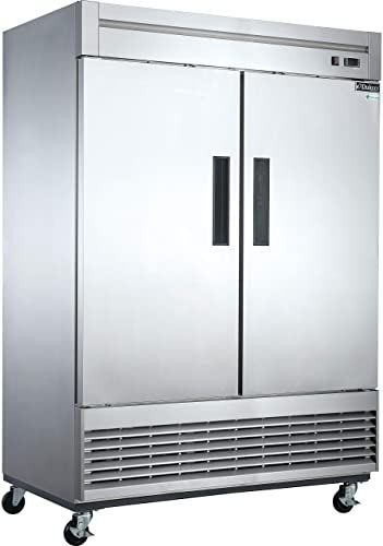 Best Seller Dukers D55r 40 7 Cu Ft 2 Door Commercial Refrigerator Online In 2020 Commercial Freezer Commercial Restaurant Equipment Commercial Kitchen