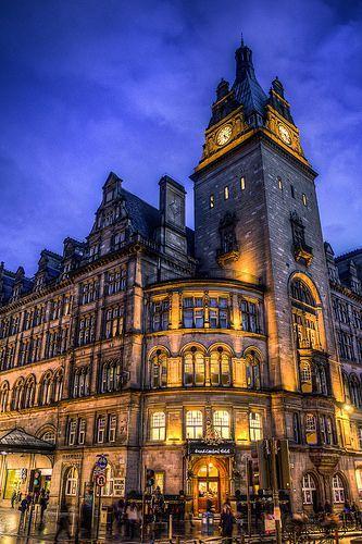 Grand Central Hotel Glasgow Scotland Scotland Travel Glasgow