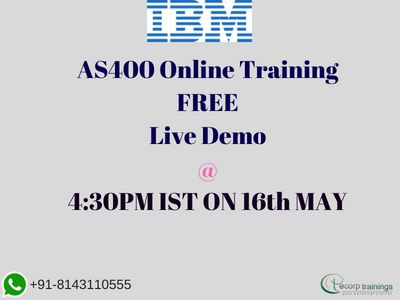 Best Institute for leran AS/400 Administration Online Training in