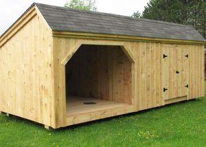 One Bay Garage Kit Single Car Garage Kit Jamaica Cottage Shop Shed Plans Shed Floor Plans Building A Shed