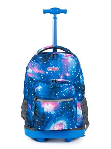 Rolling School Bags for Boys New Disney Cars 16 Inch Wheeled Backpack for Kids