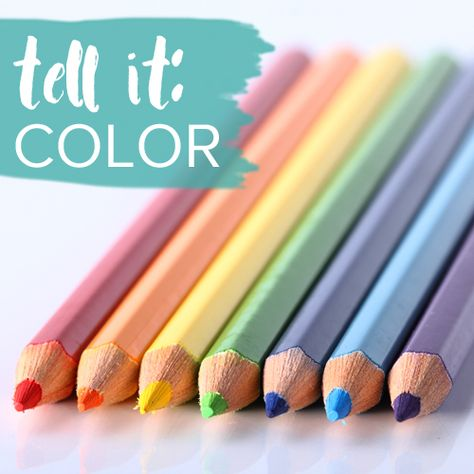 Tell It Color ecourse - a 14 day dive into the joy of colors