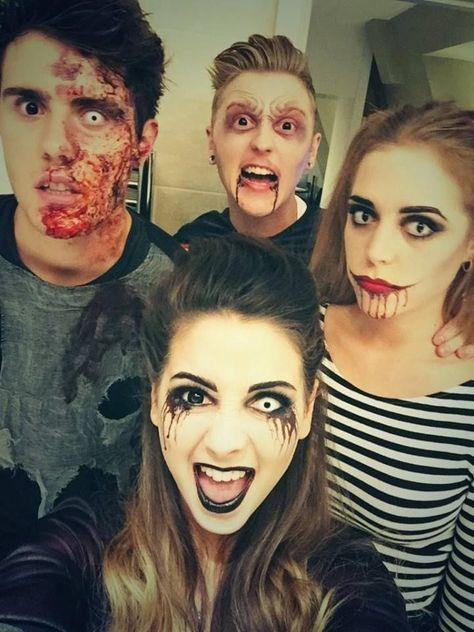 Alfie, Sean, Zoe and Poppy