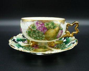 Vintage Royal Sealy Japan, Tea Cup and Saucer Set | It's tea
