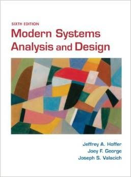 Solution Manual For Modern Systems Analysis And Design 6th Edition Jeffrey Hoffer Analysis Book Program Test Bank