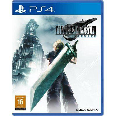 Ps4 محترف Games Final Fantasy Vii Remake Final Fantasy Vii Final Fantasy