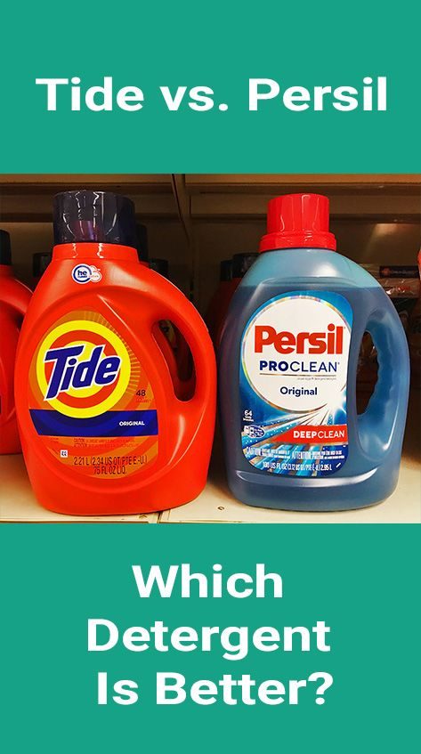 What S The Difference Between Tide And Persil In This In Depth