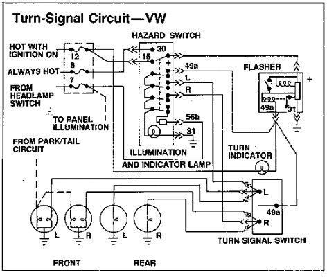 VW Dune Buggy Wiring-Diagram | | VolkswagenPinterest