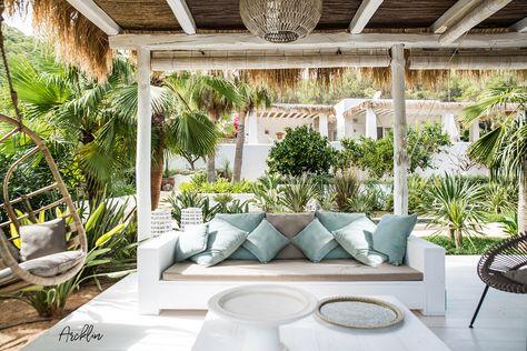 Pure House Ibiza Terraza Jardines Terraza Jardin Y Casas